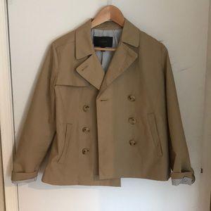 J Crew short trench coat
